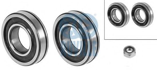 Комплект подшипника ступицы колеса RUVILLE 5508