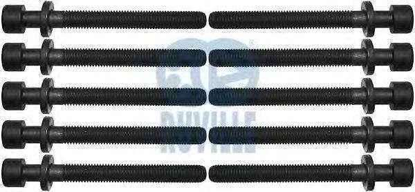 Болты ГБЦ комплект RUVILLE 305452S1