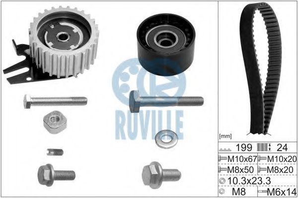 Ремкомплект ремня ГРМ RUVILLE 5603671