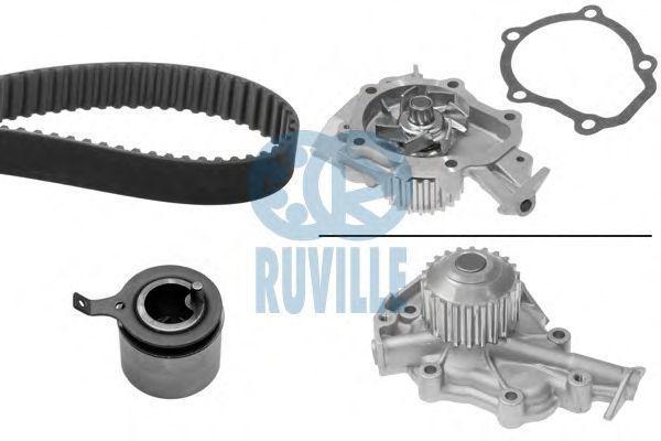 Водяной насос + комплект зубчатого ремня RUVILLE 59003711