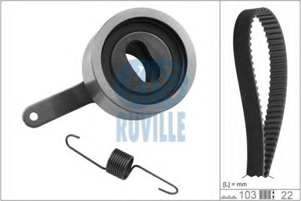 Комплект ремня ГРМ RUVILLE 5740372