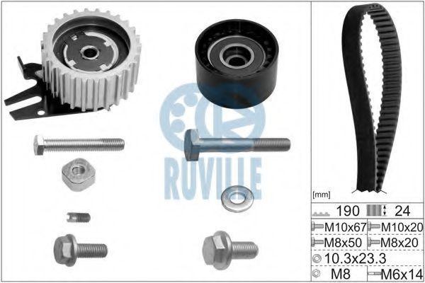 Ремкомплект ремня ГРМ RUVILLE 5603677