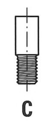 Клапан двигателя впускной FRECCIA R3633/SCR