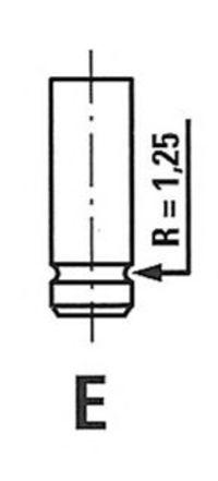 Клапан выпускной FRECCIA R6114RCR