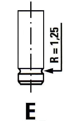 Впускной клапан Ipsa VL136000