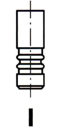 Впускной клапан Ipsa VL185700