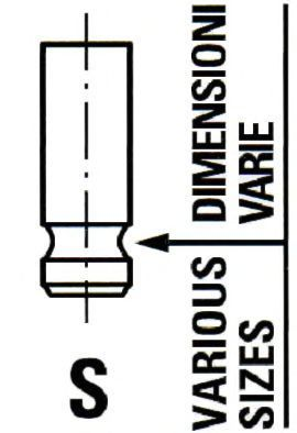 Впускной клапан Ipsa VL134600