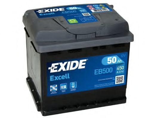 Аккумулятор 50Ач EXCELL EXIDE EB500