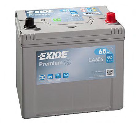 Аккумулятор 65Ач Premium EXIDE EA654