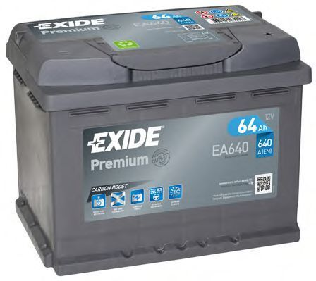 Аккумулятор 64Ач Premium EXIDE EA640