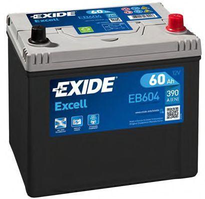 Аккумулятор 60Ач EXCELL EXIDE EB604