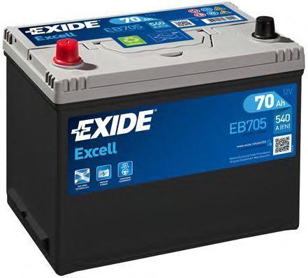 Аккумулятор 70Ач EXCELL EXIDE EB705