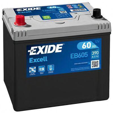 Аккумулятор 60Ач EXCELL EXIDE EB605