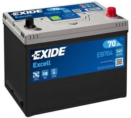 Аккумулятор 70Ач EXCELL EXIDE EB704