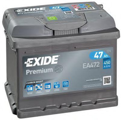 Аккумулятор 47Ач Premium EXIDE EA472