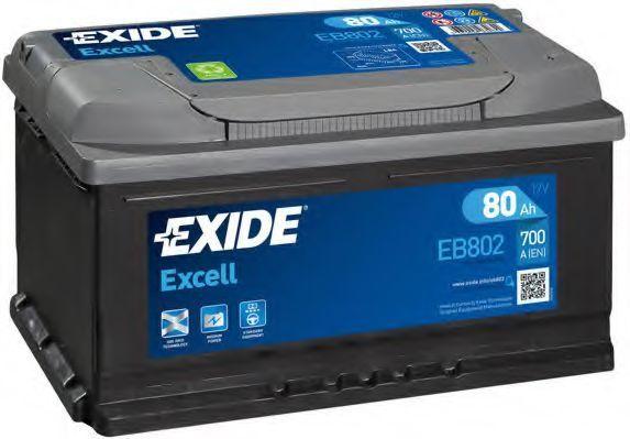 Аккумулятор 80Ач EXCELL EXIDE EB802