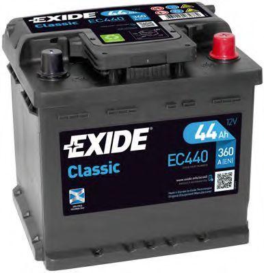 Аккумулятор 44Ач CLASSIC EXIDE EC440
