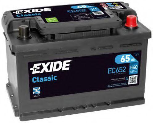 Аккумулятор 65Ач 540А CLASSIC EXIDE EC652