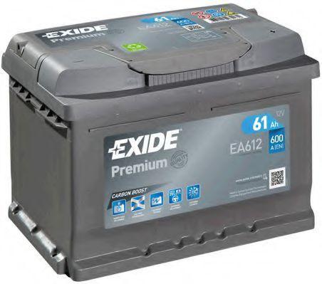 Аккумулятор 61Ач Premium EXIDE EA612