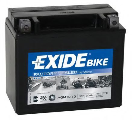 Аккумулятор гелевый AGM 10Ач EXIDE AGM1210