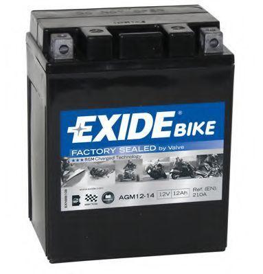 Аккумулятор гелевый AGM 12Ач EXIDE AGM1214