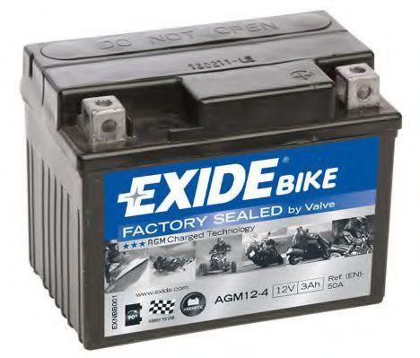 Аккумулятор гелевый AGM 3Ач EXIDE AGM124