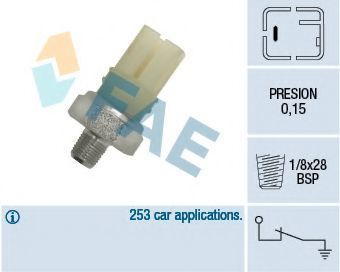 Купить Датчик давления масла FAE 12420