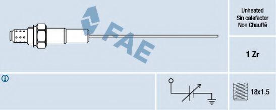 Лямбда-зонд FAE 77001