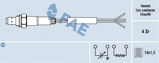 Лямбда-зонд универсальный FAE 77008