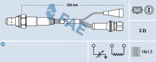 Лямбда-зонд FAE 77105