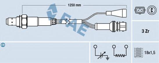 Лямбда-зонд FAE 77108