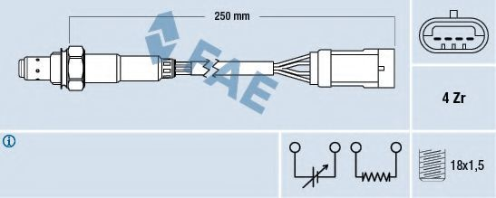 Лямбда-зонд FAE 77151