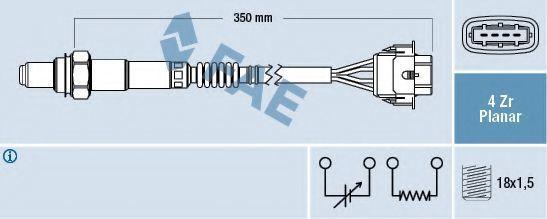 Лямбда-зонд FAE 77208