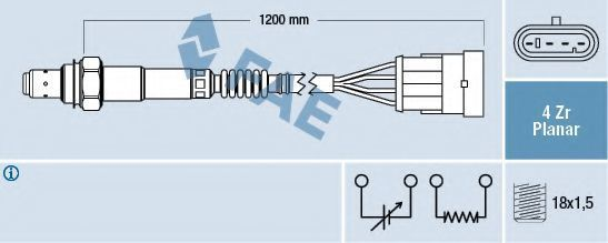 Лямбда-зонд FAE 77226