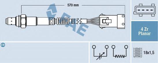 Лямбда-зонд FAE 77240