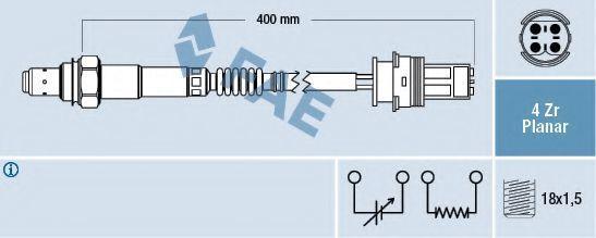 Лямбда-зонд FAE 77251