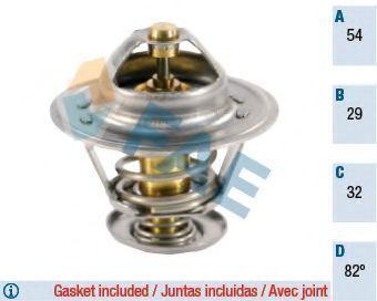 Термостат, охлаждающая жидкость FAE 5300882