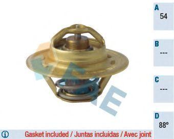 Термостат, охлаждающая жидкость FAE 5321188