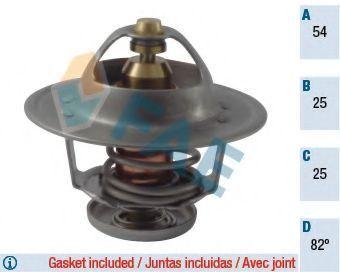 Термостат, охлаждающая жидкость FAE 5322482