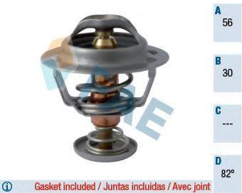 Термостат, охлаждающая жидкость FAE 5322582