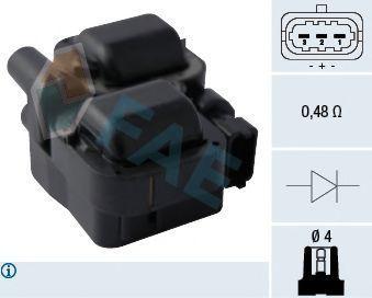 Катушка зажигания FAE 80294