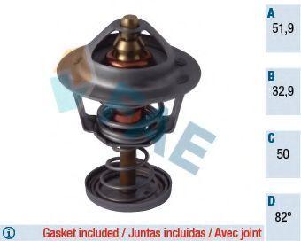 Термостат, охлаждающая жидкость FAE 5308282
