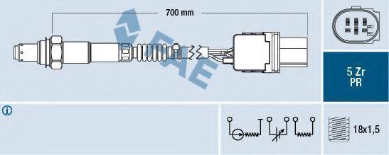 Лямбда-зонд FAE 75085