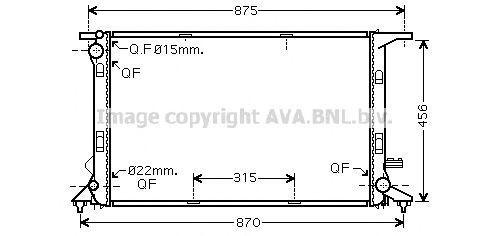Радиатор охлаждения AVA AI2290