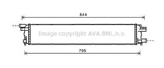 Радиатор охлаждения AVA AI2361
