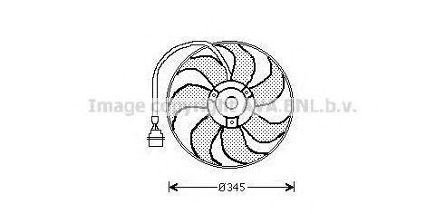 Вентилятор охлаждения AVA AI7509