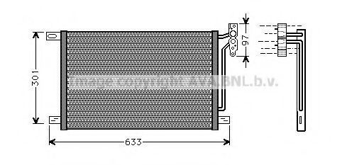 Радиатор кондиционера AVA BW5215