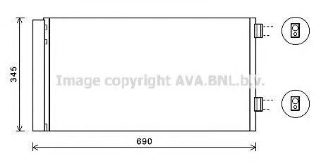 Конденсатор, кондиционер AVA BW5414D