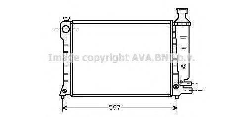 Радиатор охлаждения AVA CN2036