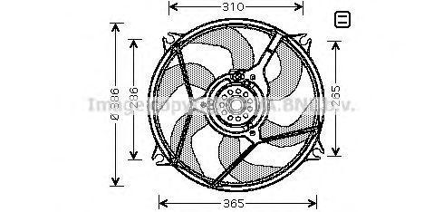 Вентилятор AVA CN7530